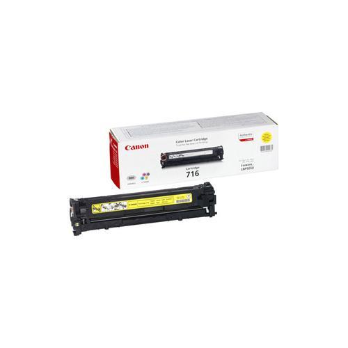 Canon 716 Toner Cartridge - Yellow