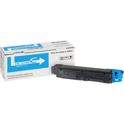 Kyocera TK-5140C Toner Cartridge - Cyan