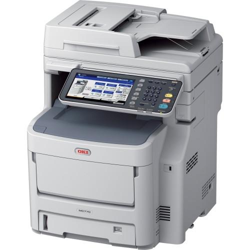 Oki MC700 MC770DNFAX LED Multifunction Printer - Colour - Plain Paper Print - Desktop