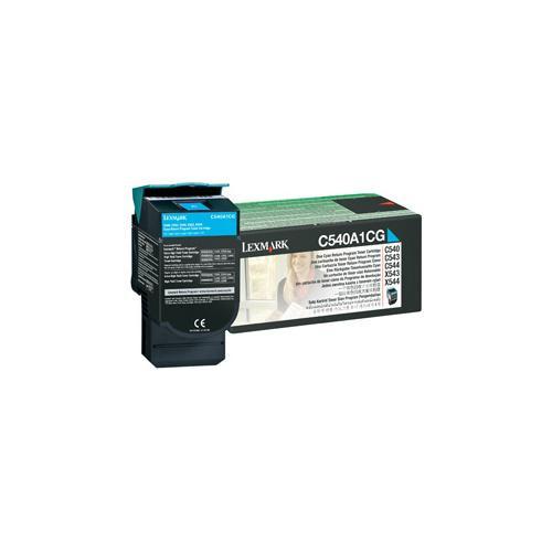 Lexmark 0C540A1CG Toner Cartridge - Cyan