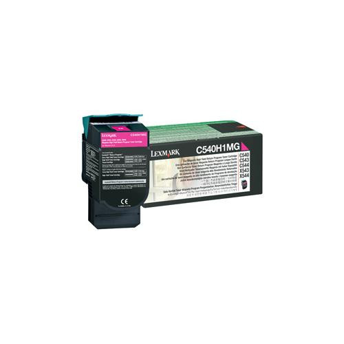 Lexmark 0C540H1MG Toner Cartridge - Magenta