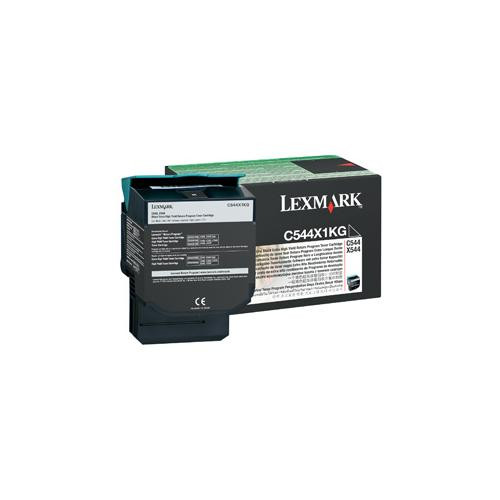 Lexmark 0C544X1KG Toner Cartridge - Black
