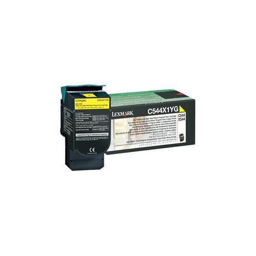 Lexmark 0C544X1YG Toner Cartridge - Yellow