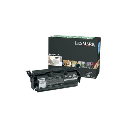 Lexmark 0X651A11E Toner Cartridge - Black