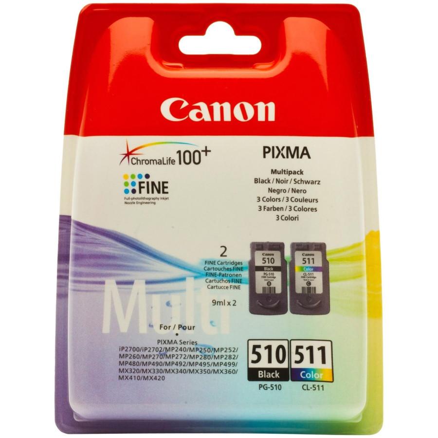 Canon Ink Cartridge - Black, Colour