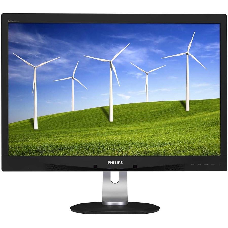 "Philips Brilliance 240B4QPYEB 61 cm (24"") LED Monitor - 16:10 - 5 ms"