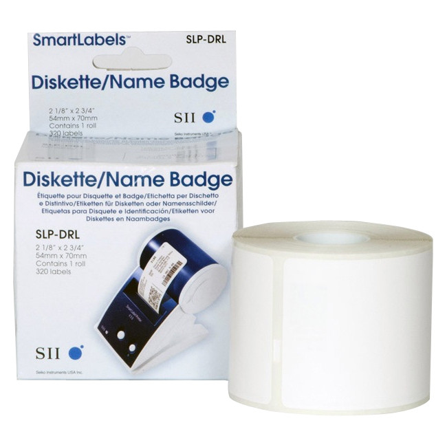Seiko SLP-DRL Multipurpose Label - 54 mm Width x 70 mm Length - 1 / Box