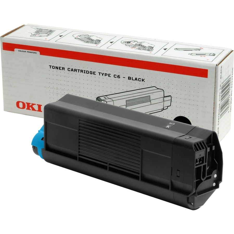 Oki 42127408 Toner Cartridge - Black