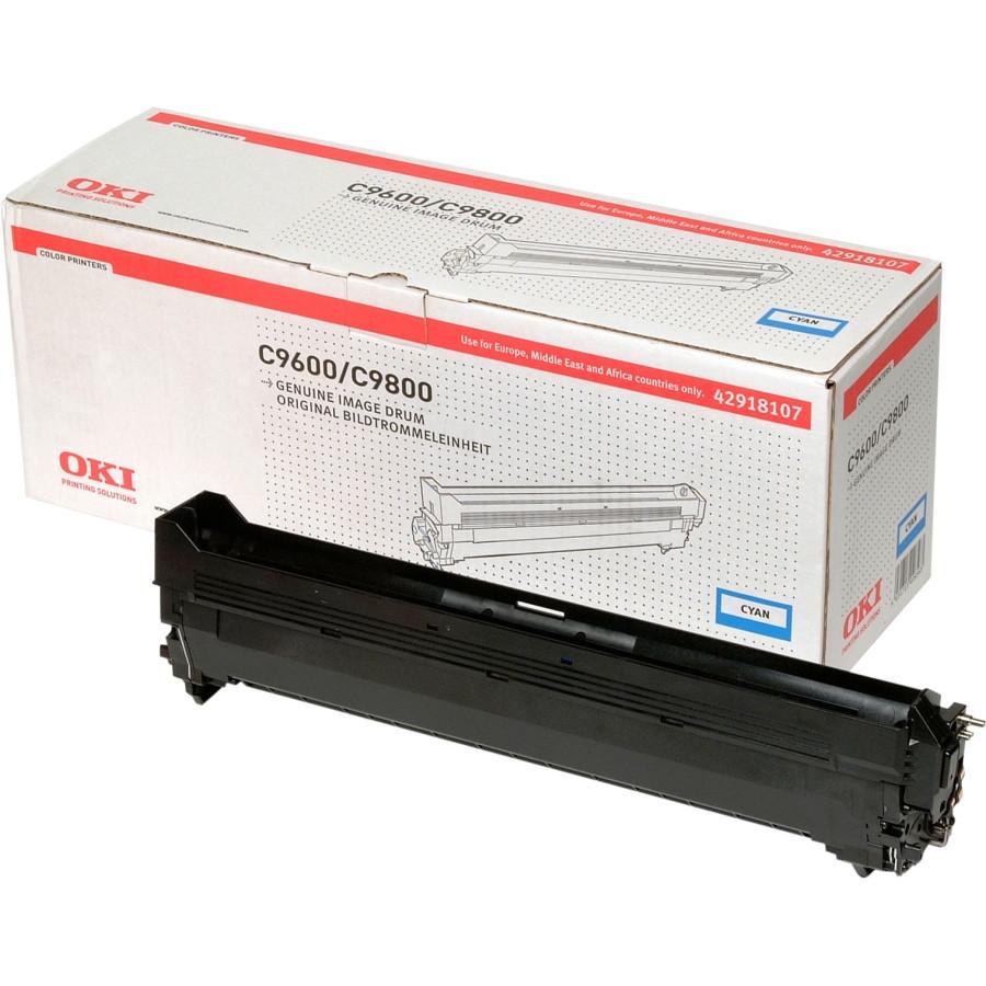 Oki 42918107 LED Imaging Drum - Cyan
