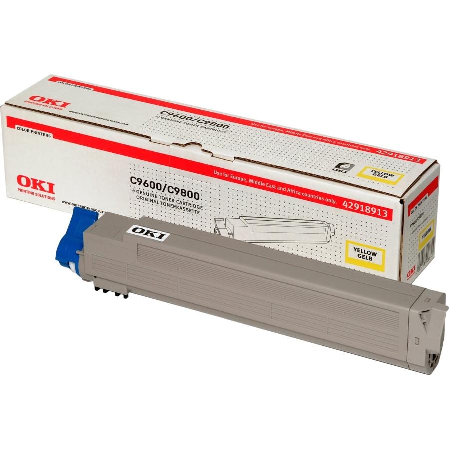 Oki 42918913 Toner Cartridge - Yellow