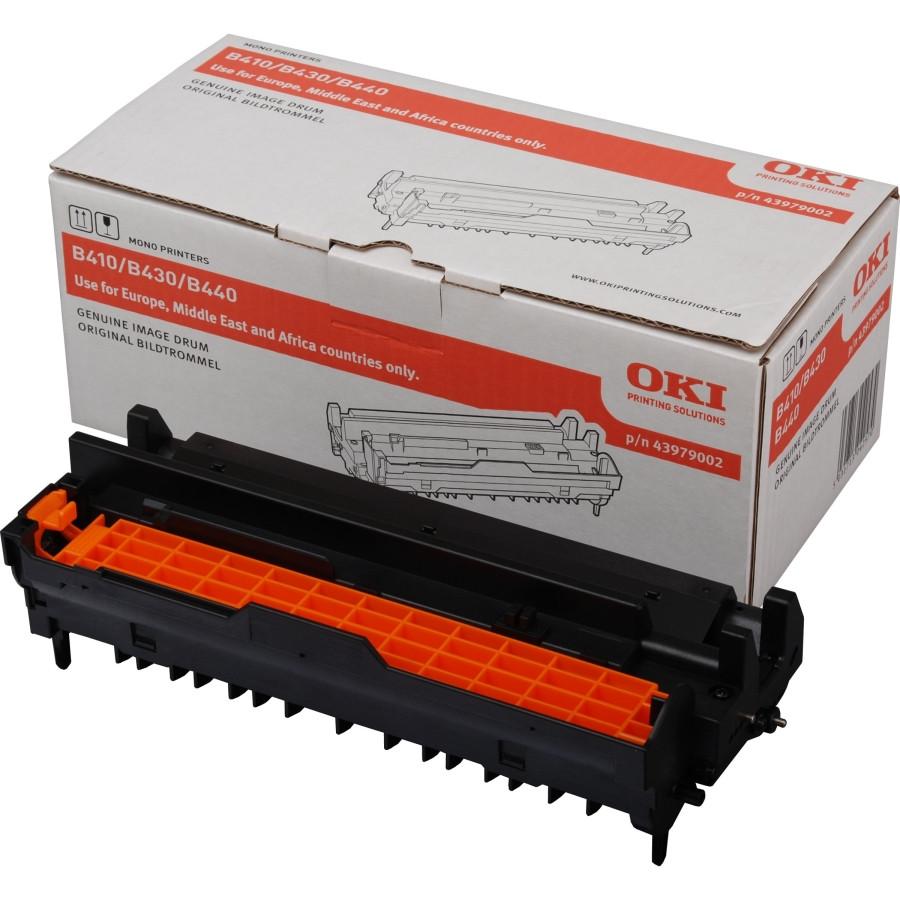 Oki 43979002 LED Imaging Drum for Printer - Black