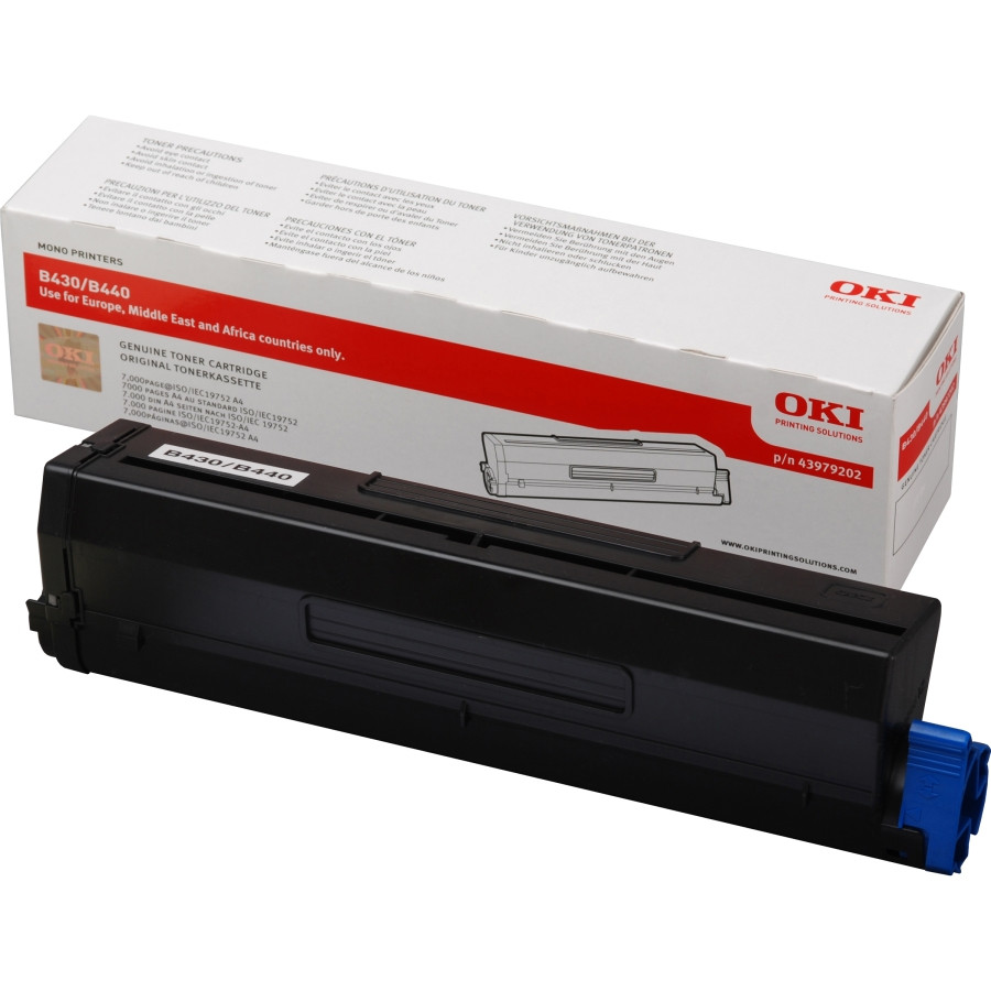 Oki 43979202 Toner Cartridge - Black