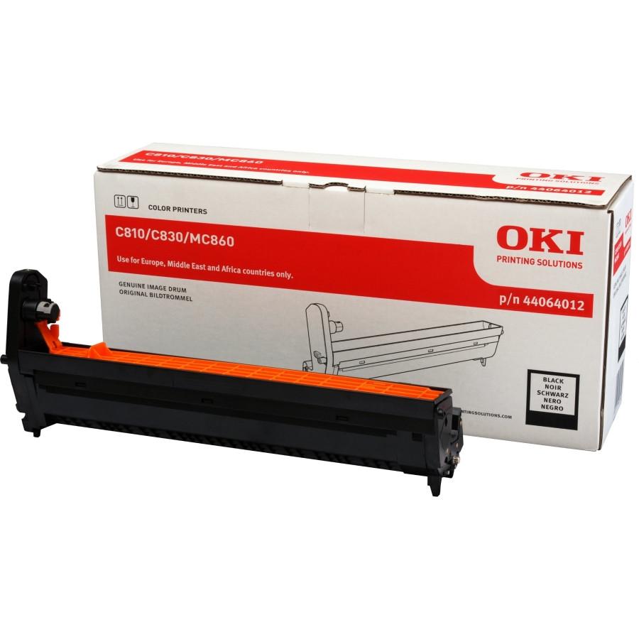 Oki 44064012 LED Imaging Drum - Black