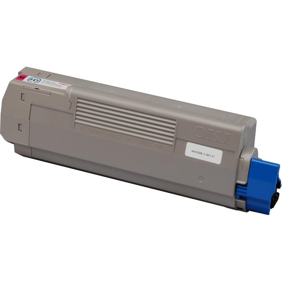 Oki 44315306 Toner Cartridge - Magenta
