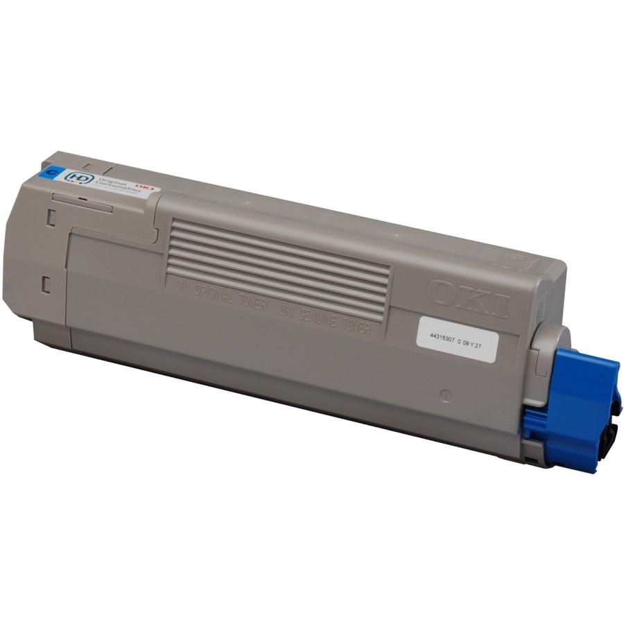 Oki 44315307 Toner Cartridge - Cyan