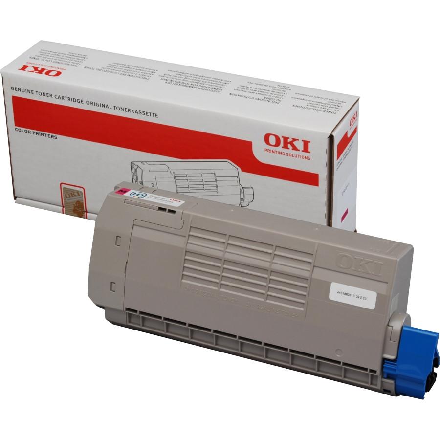Oki 44318606 Toner Cartridge - Magenta