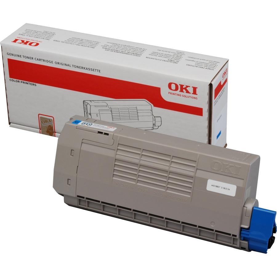 Oki 44318607 Toner Cartridge - Cyan