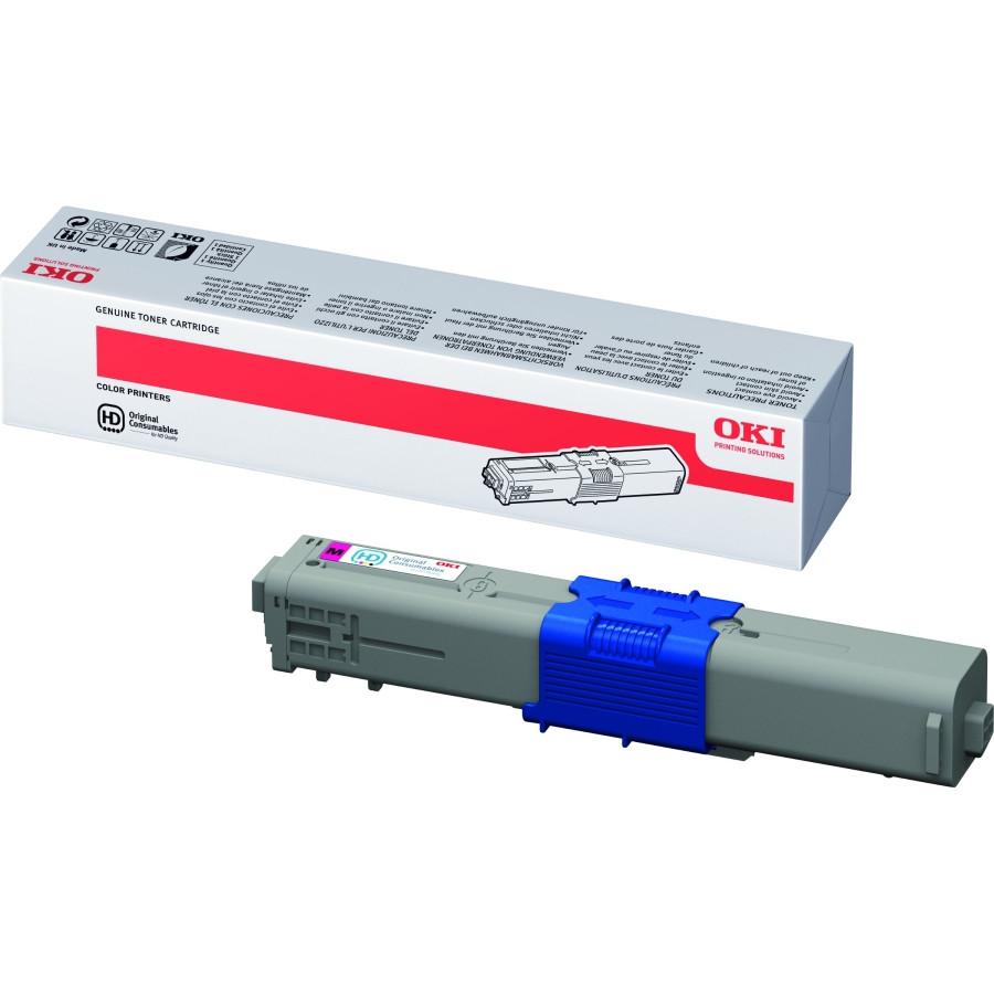Oki 44469705 Toner Cartridge - Magenta