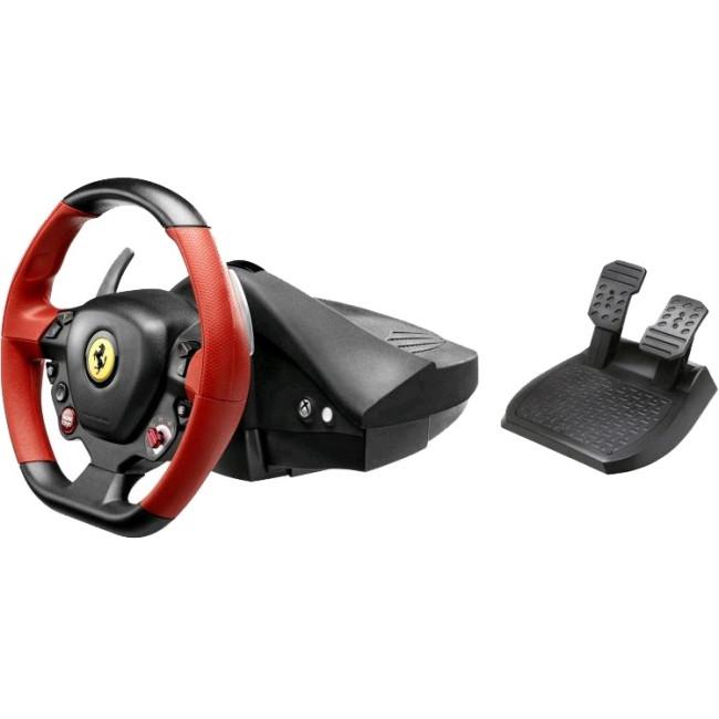 Thrustmaster Gaming Steering Wheel, Gaming Pedal