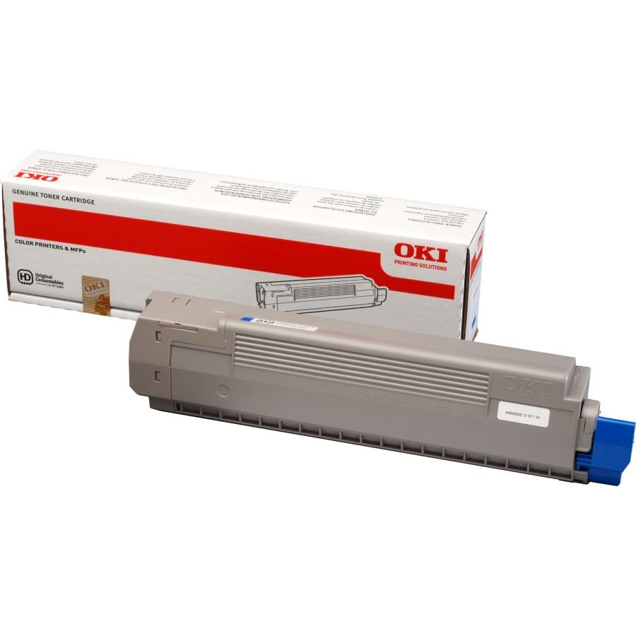 Oki 44643003 Toner Cartridge - Cyan