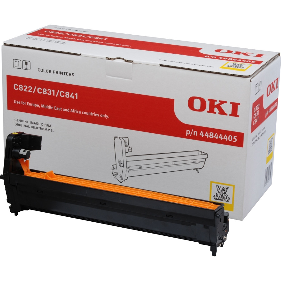 Oki LED Imaging Drum - Yellow