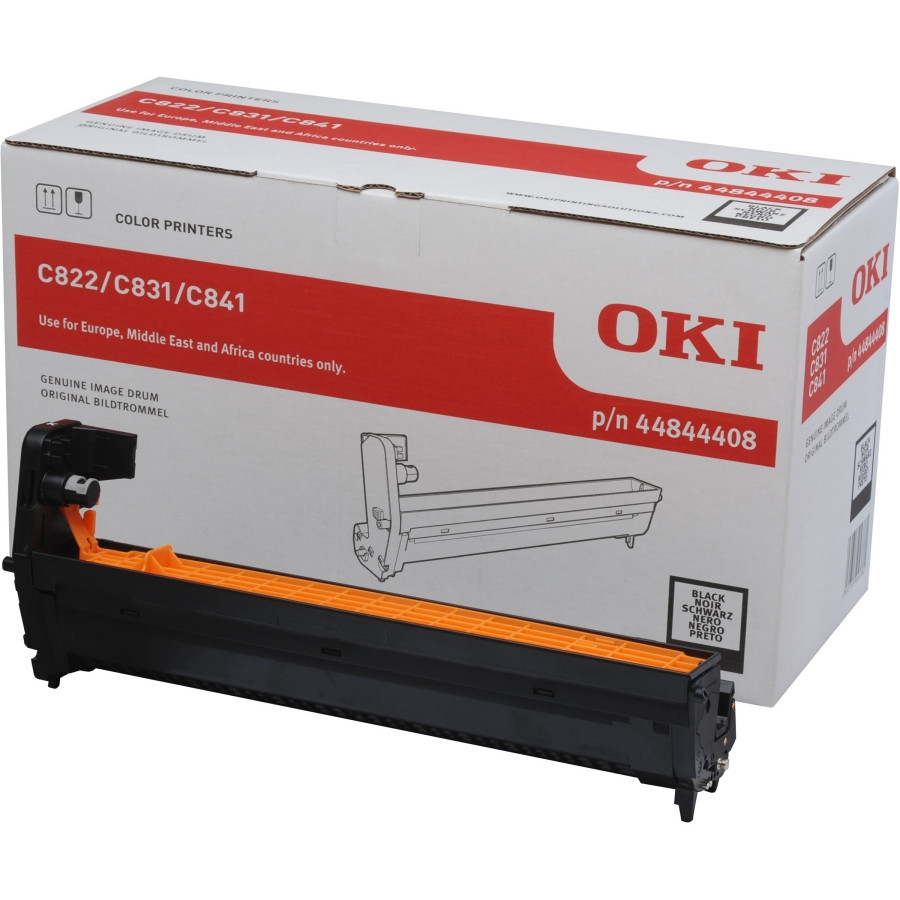 Oki LED Imaging Drum - Black