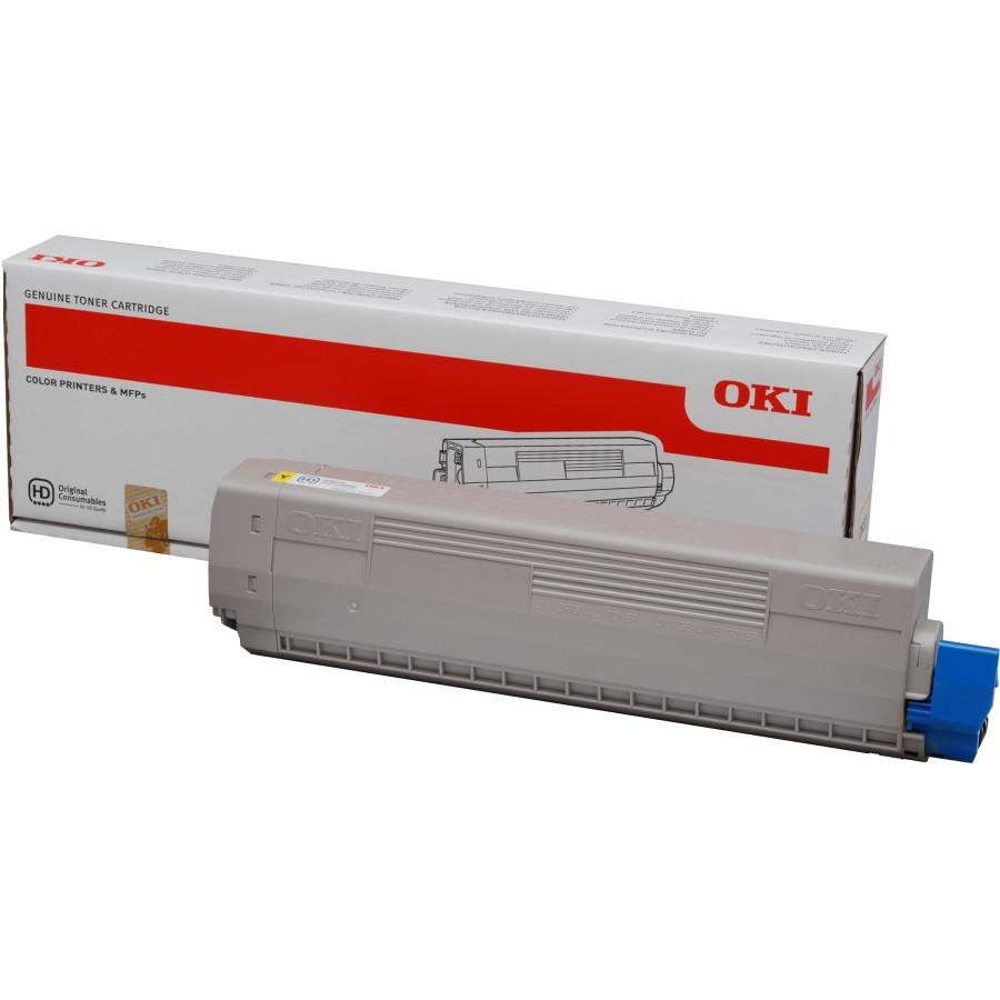 Oki Toner Cartridge - Yellow