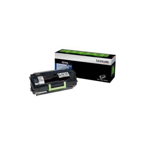 Lexmark Unison 522HL Toner Cartridge - Black