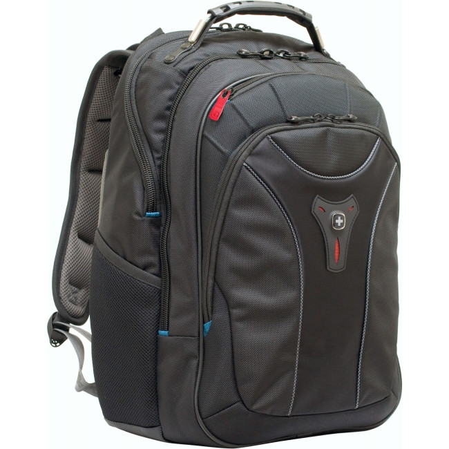 "Wenger CARBON Carrying Case (Backpack) for 43.2 cm (17"") MacBook Pro - Black"