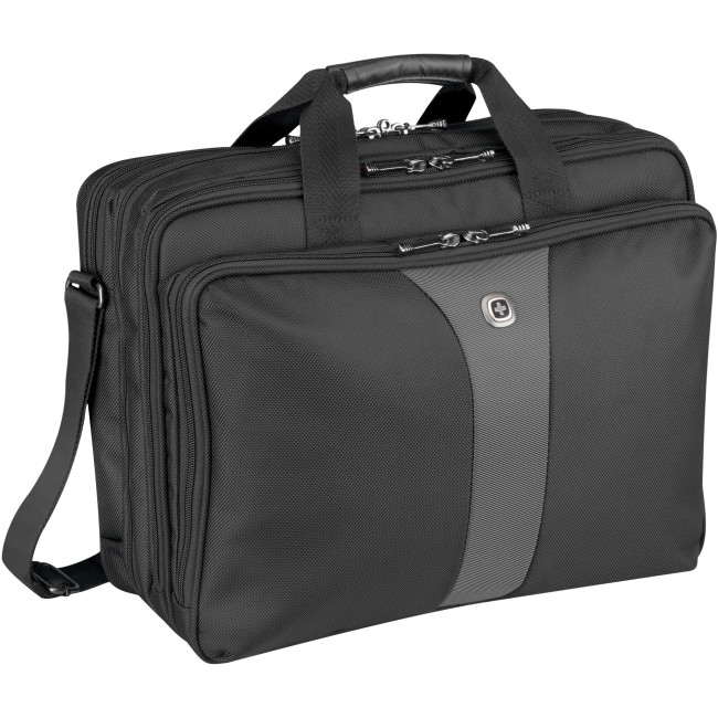 "Wenger LEGACY Carrying Case for 43.2 cm (17"") Notebook - Black, Grey"