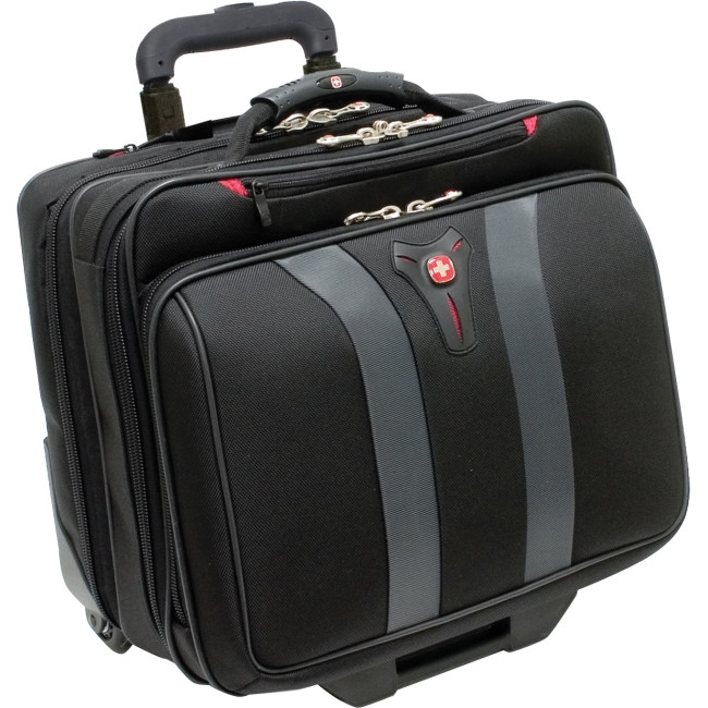 "Wenger Granada Carrying Case (Roller) for 43.2 cm (17"") Notebook - Black, Grey"