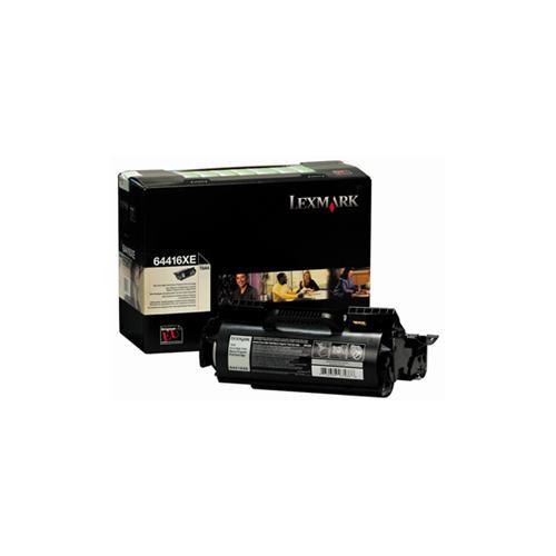 Lexmark 64416XE Toner Cartridge - Black