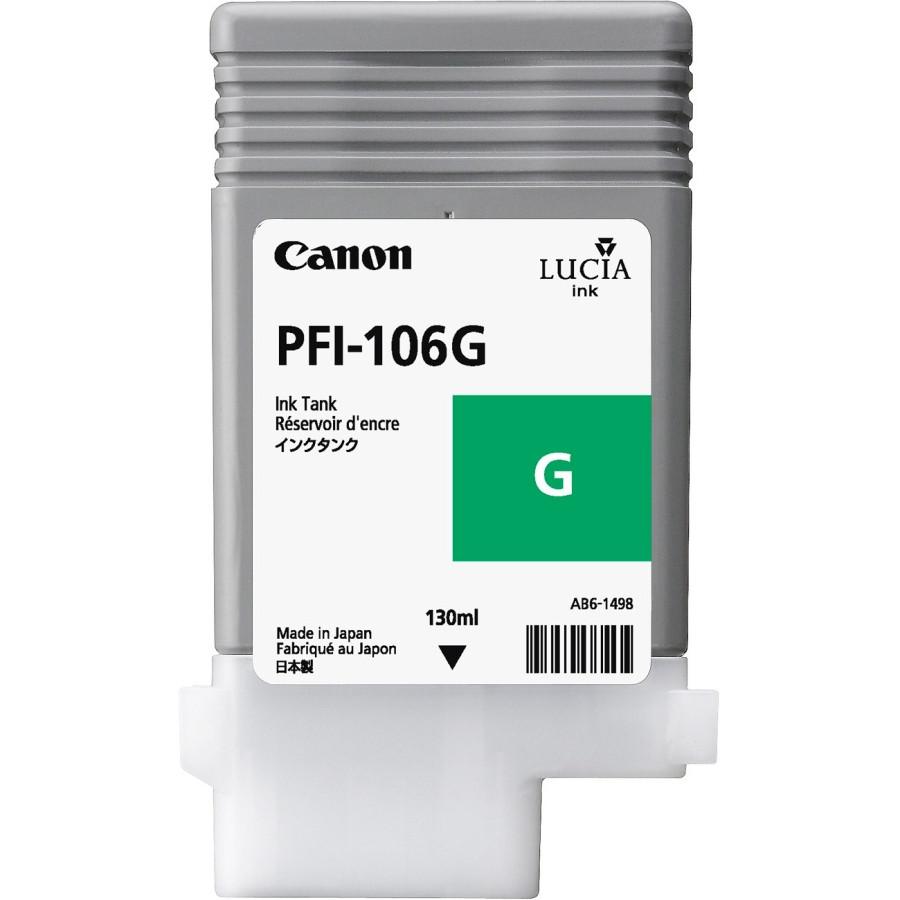 Canon Lucia EX PFI-106G Ink Cartridge - Green