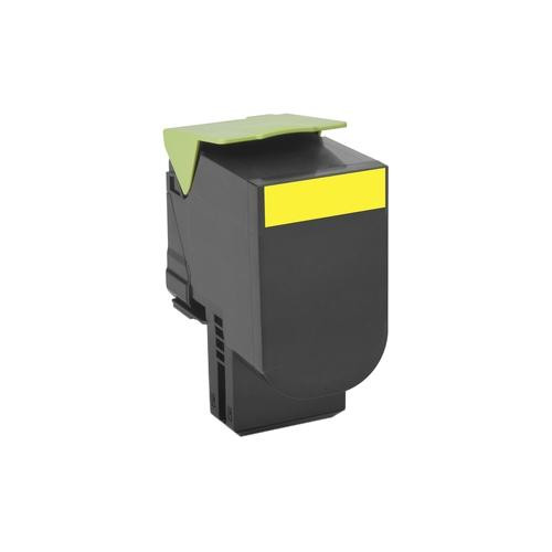 Lexmark 702HYE Toner Cartridge - Yellow