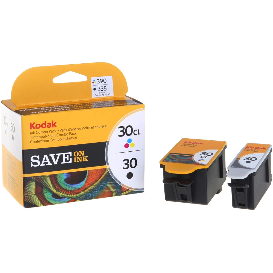 Kodak No. 30/30CL Ink Cartridge - Black, Colour