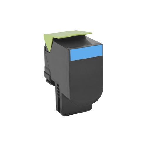 Lexmark Unison 802HC Toner Cartridge - Cyan