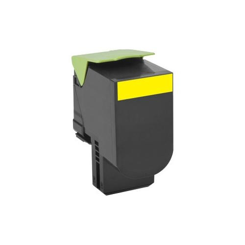 Lexmark Unison 802HY Toner Cartridge - Yellow