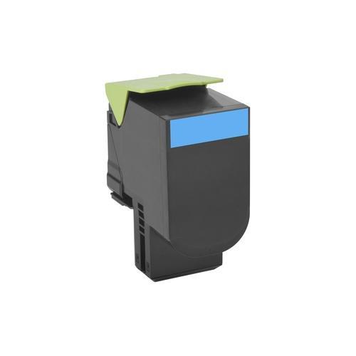 Lexmark Unison 802SC Toner Cartridge - Cyan