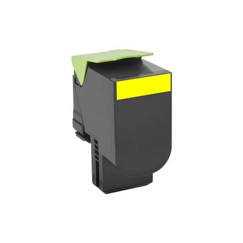 Lexmark Unison 802SY Toner Cartridge - Yellow