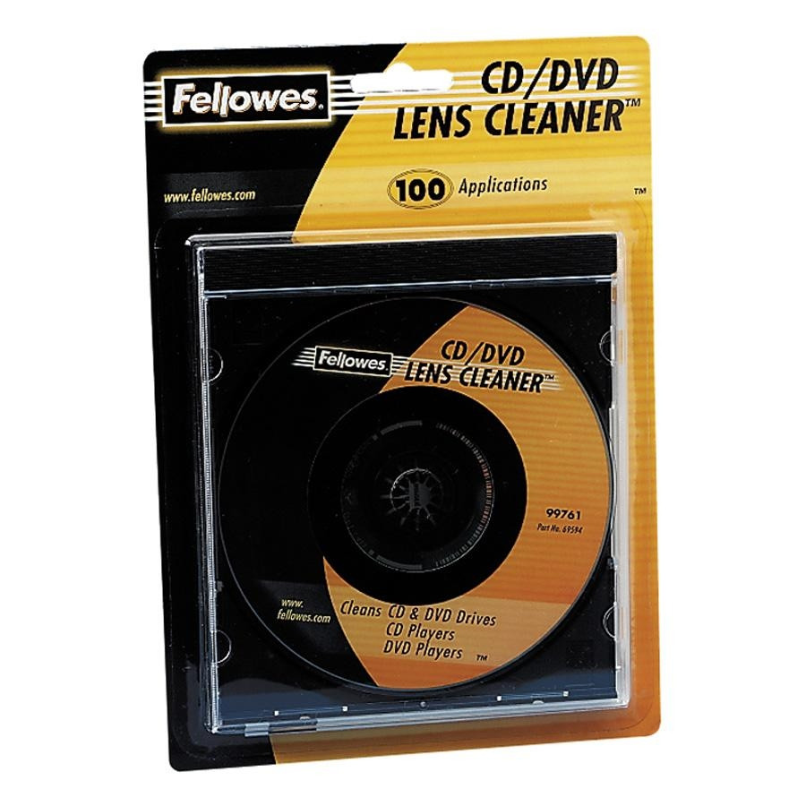 Fellowes 99761 Lens Cleaner for Optical Drive