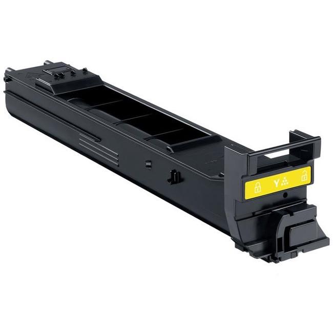 Konica Minolta A0DK252 Toner Cartridge - Yellow