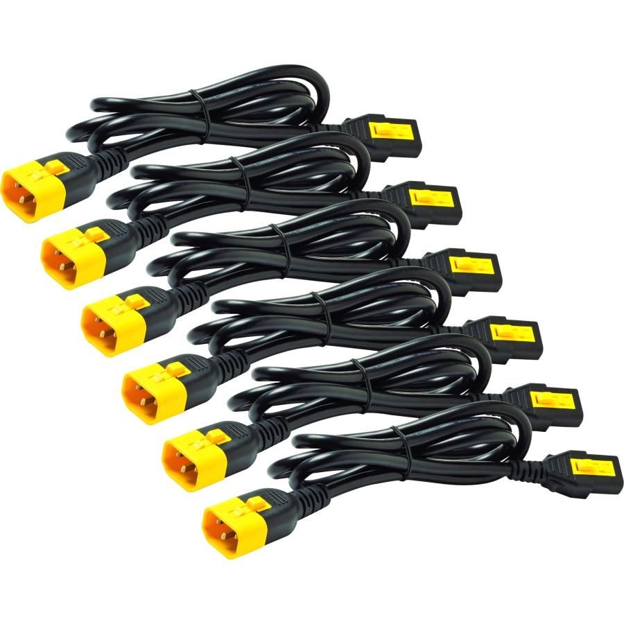 APC Power Interconnect Cord - 1.80 m Length - IEC 60320 C14 - IEC 60320 C13
