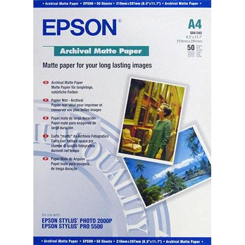 Epson Archival C13S041342 Matte Paper