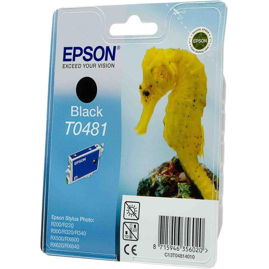 Epson T0481 Ink Cartridge - Black