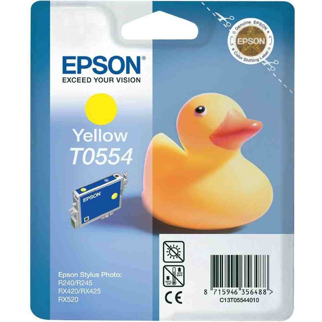 Epson T0554 Ink Cartridge - Yellow