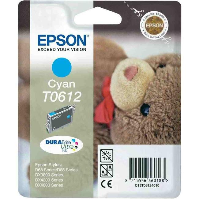 Epson DURABrite T0612 Ink Cartridge - Cyan