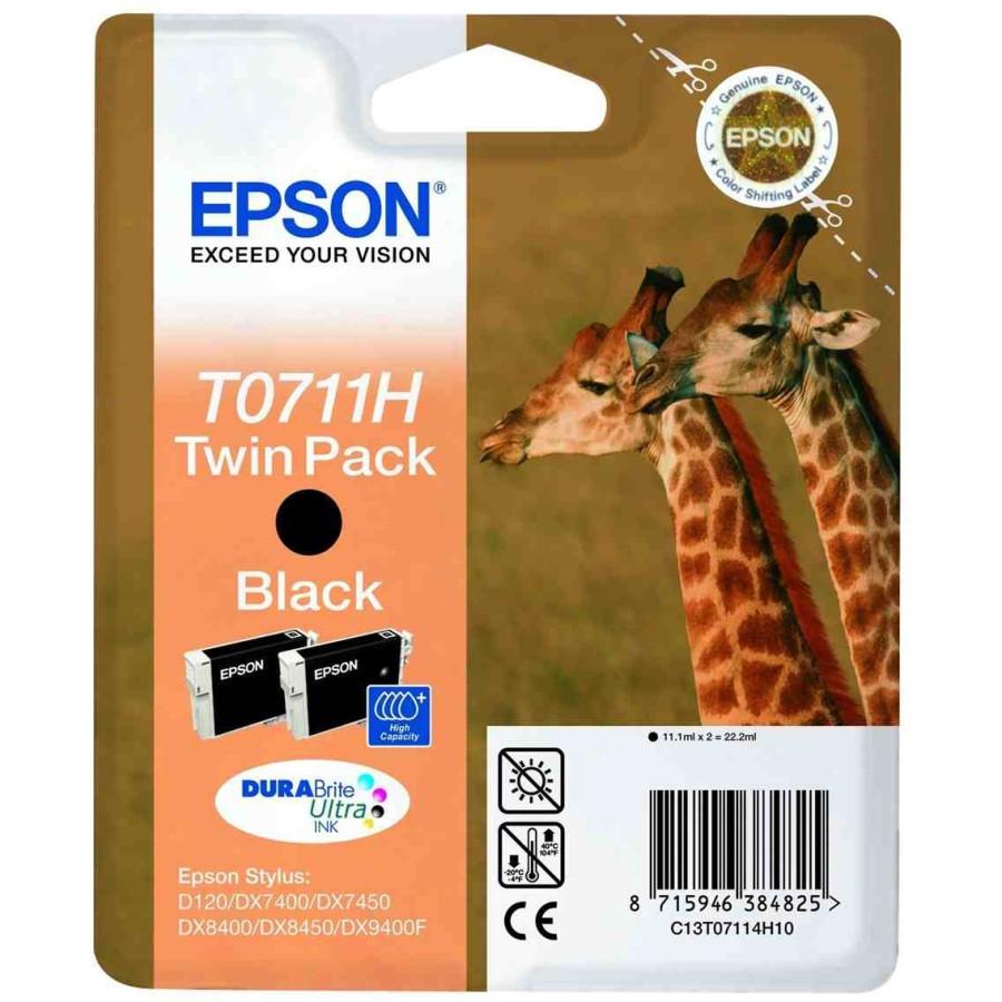 Epson DURABrite T0711 Ink Cartridge - Black