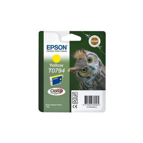 Epson Claria T0794 Ink Cartridge - Yellow