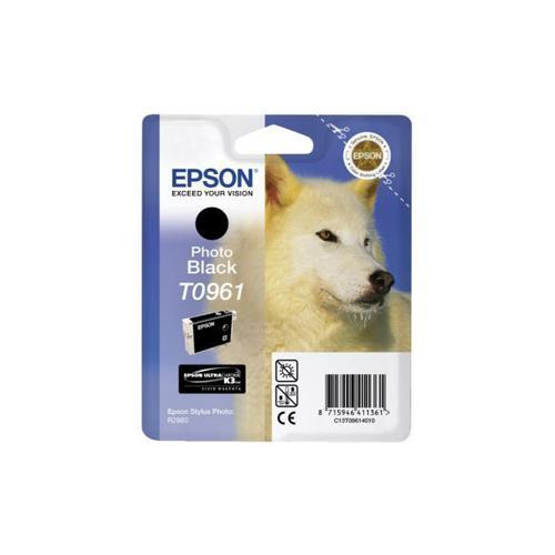 Epson UltraChrome T0961 Ink Cartridge - Black