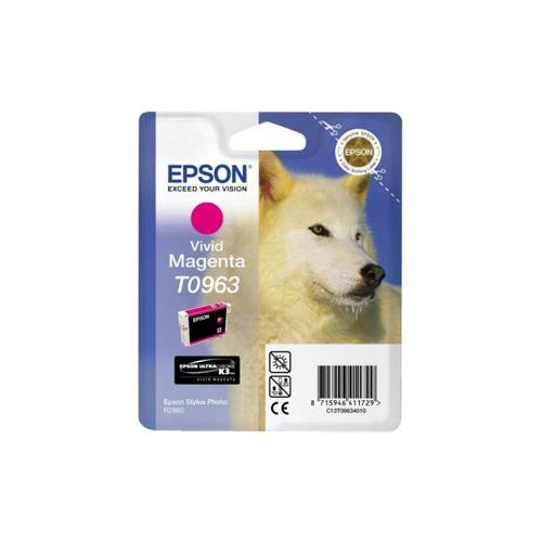 Epson UltraChrome T0963 Ink Cartridge - Magenta